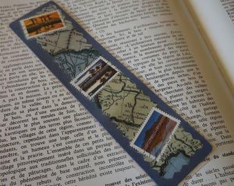 Marque-Page plastifié - signet - Grand  Modèle - 20,5 cm
