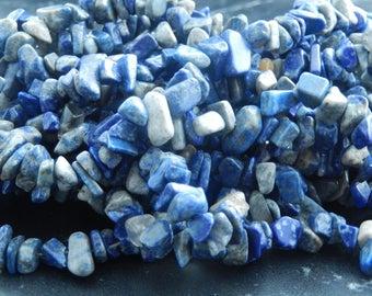 100 chips of Lapis Lazuli