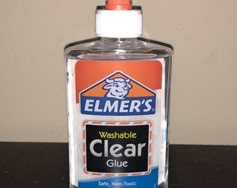 Elmer's Glue for Slime (Clear / White)