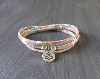 liberty bracelet - woman bracelet - bracelet-lotus flower bracelet
