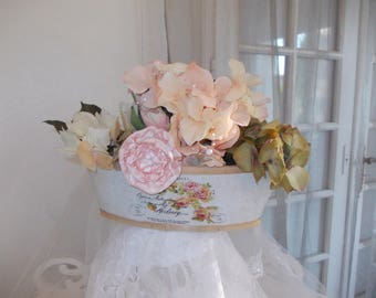 wedding VINTAGE SHABBY CHIC table decor