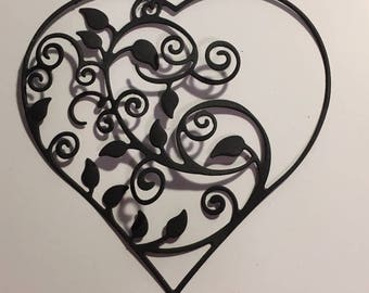 Hearts for scrapbooking die cut