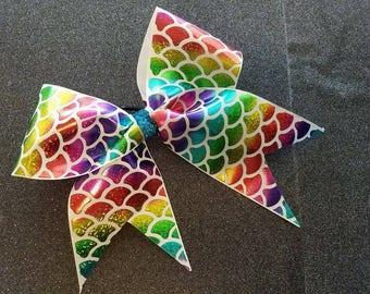 Mermaid Cheer Bow