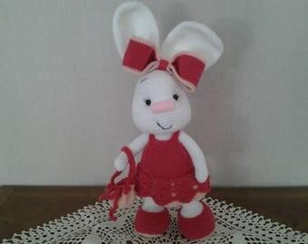 Gift kids decor, estelle little rabbits