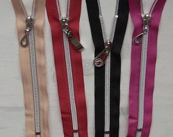 Zip up zipper bag 40cm Sterling slider special