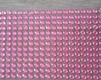 Rhinestone pink scrapbooking cardmaking home deco