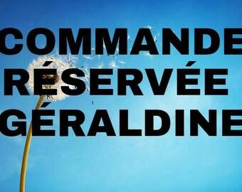 Reserved Geraldine