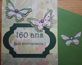 Personalized twist and pop card