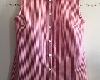 Size 36 cotton sleeveless shirt