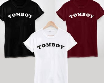 Tomboy T-Shirt - Ladies and Mens Sizes