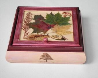 Autumn jewelry box