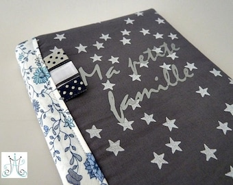 """Protects family book """"My family"""" - grey rain SDS star white and Liberty"""