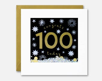 100 Today Shakies Card by James Ellis