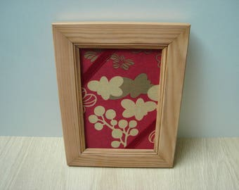 Asian decor pine photo frame