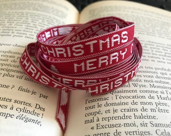 """Merry Christmas"" Ribbon"