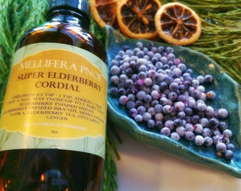 Super Elderberry Cordial
