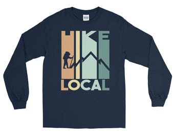 Cool Hike Local Graphic Long Sleeve T-Shirt