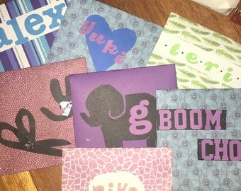 Custom envelopes and cards