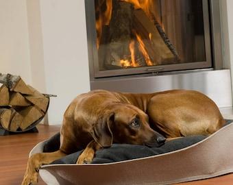 Dog bed of arena in felt, dog bed, dog pillow, orthopedic