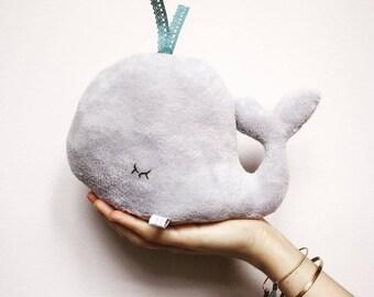 Grey Whale Soft Toy