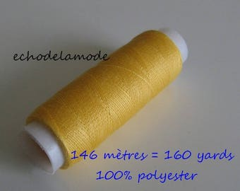 Spool of thread sewing straw 146 m 100% polyester
