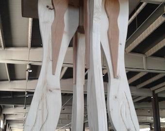 Wooden Tabouret