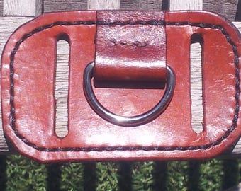 Leather Belt Key Holder Loop