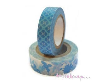 Set of 2 washi tape WE R MEMORY KEEPERS sticker scrapbooking (ref.210) *.