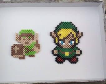 Legend of Zelda - Link (2D Perler Bead)