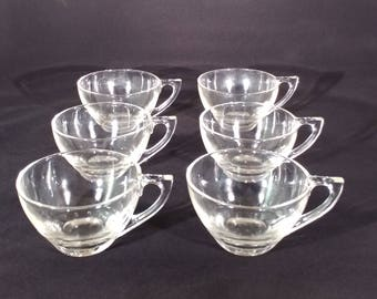 Mid-Century party cups set of 6