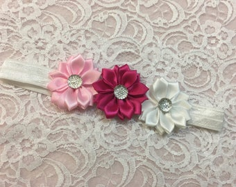 Baby flower elastic headband
