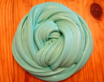 8oz Seafoam Butter Slime