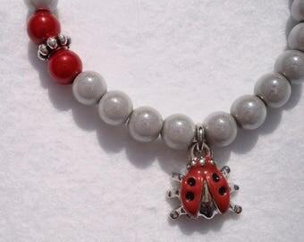"""""""Ladybug"""" child bracelet"""