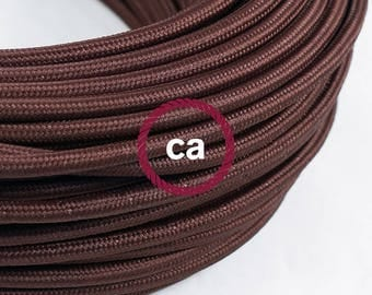 Brown Rayon cloth covered cable RM03