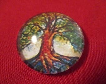 Cabochon stuck for ring or pendant 25 mm