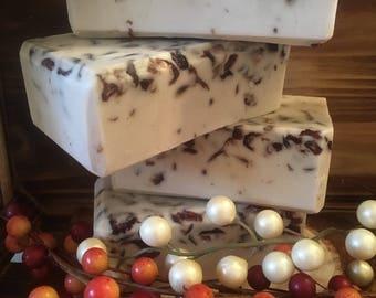 Cranberry & Vanilla Soap
