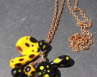 sequins CL.0811 murano necklace