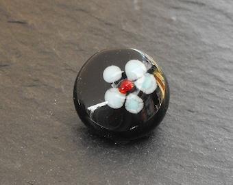 Murano PERL.1598 glass button