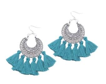 Boho ethnic earrings