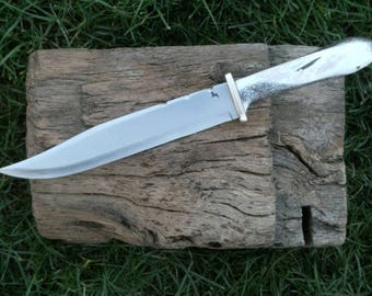 "10"" Coffin handle Bowie Knife"