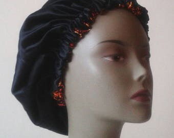 Hat with satin, silk lined