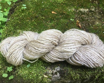 Wool hand spun ouessant