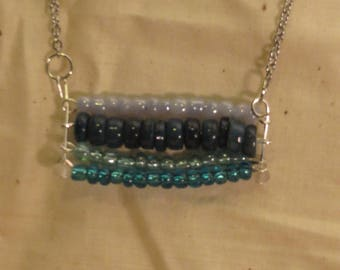 Beads of Blue