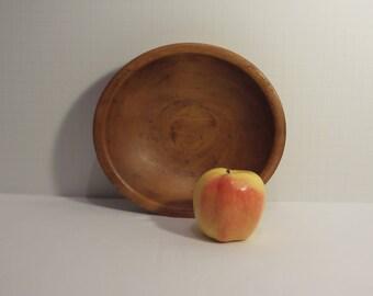 Vintage Wood Butter Bowl