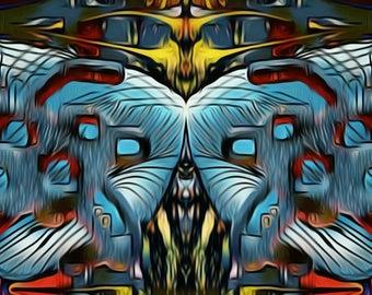 Abstract Art Print. Dual Purpose