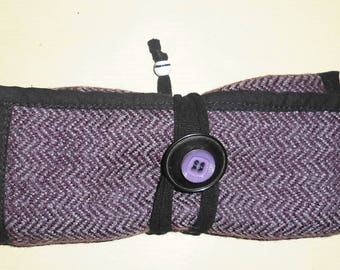 Upcycled tobacco ' purple Tweed