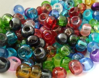 CLEARANCE - 100 x beads European glass - lampwork