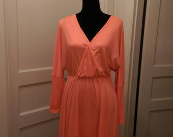 Peach Summertime Dress