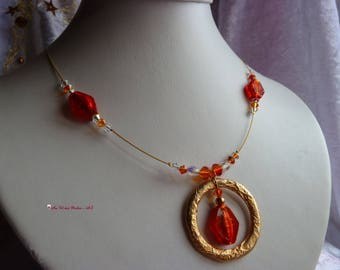 MURANO beads necklace