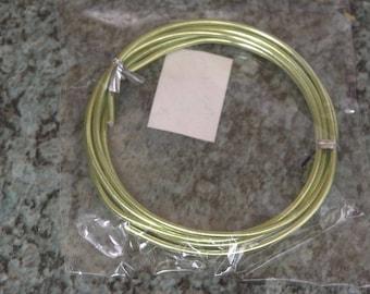 Light green 2 mm aluminum wire
